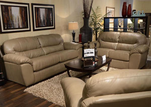 Brantley Putty Sleeper & Loveseat
