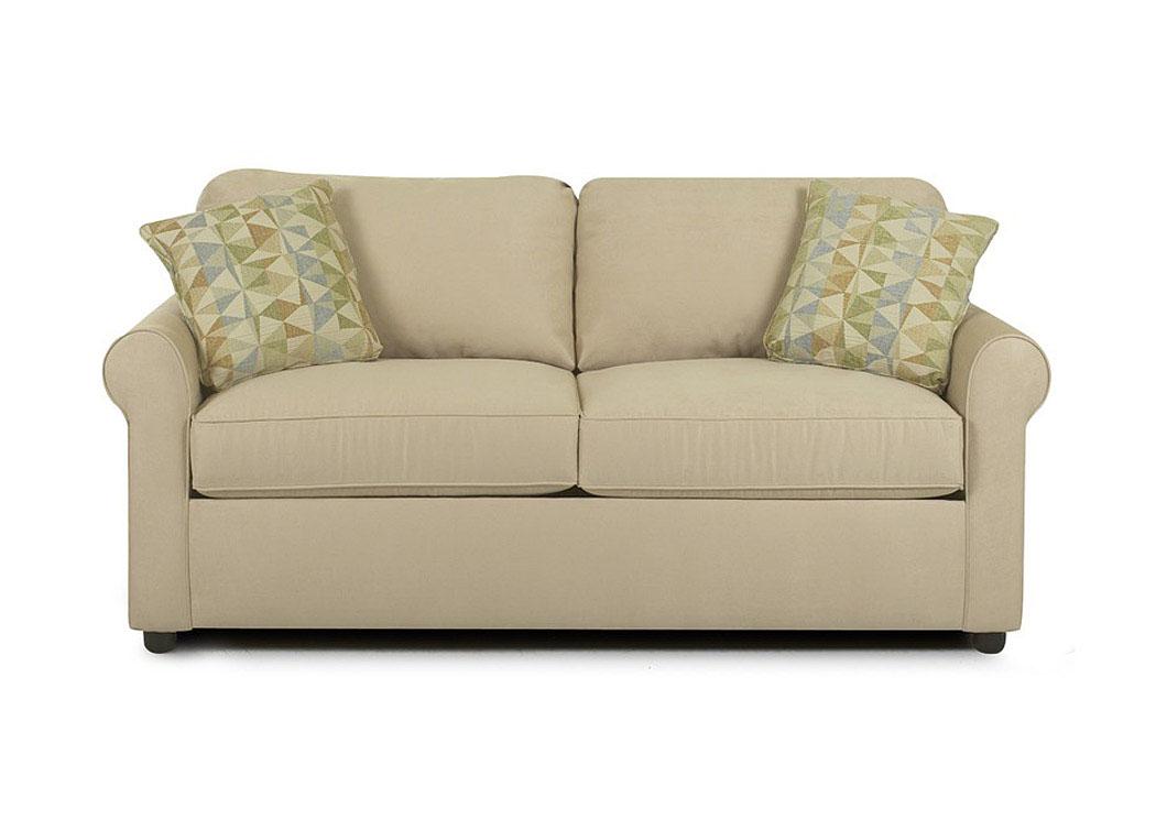 Majek Furniture Brighton Khaki Loveseat