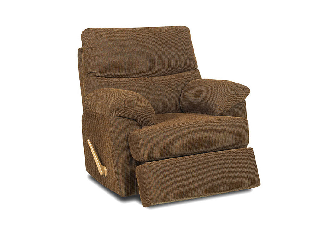 Bristol Cappucino Reclining Chair,Klaussner Home Furnishings