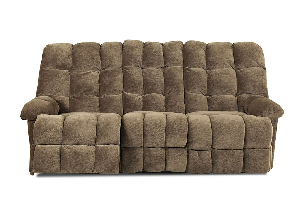 Unclaimed Furniture Ar Brownsville Mocha Reclining Sofa