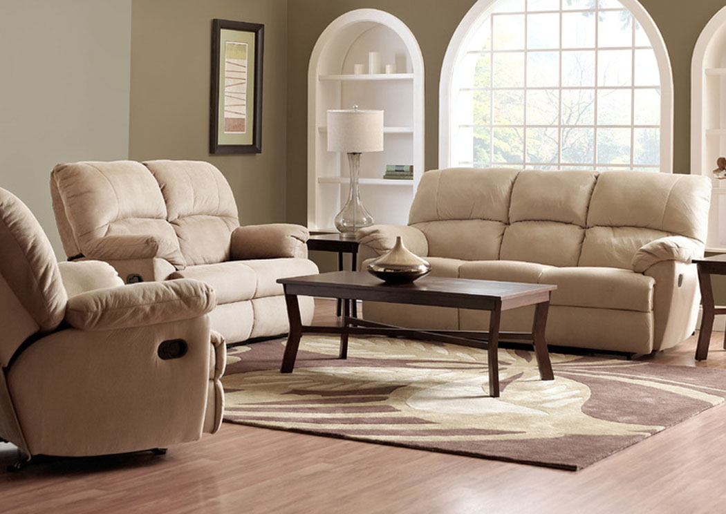 Fairweather Beige Reclining Rocking Chair,Klaussner Home Furnishings