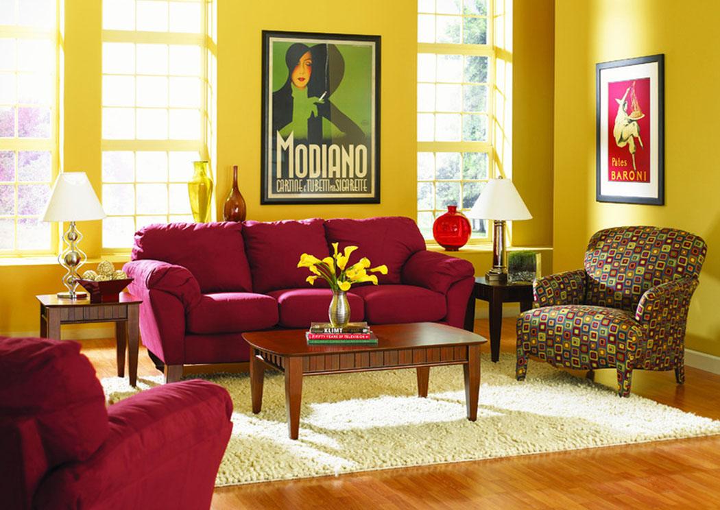 Awesome Libra Cinnabar Sofa U0026 Loveseat,Klaussner Home Furnishings