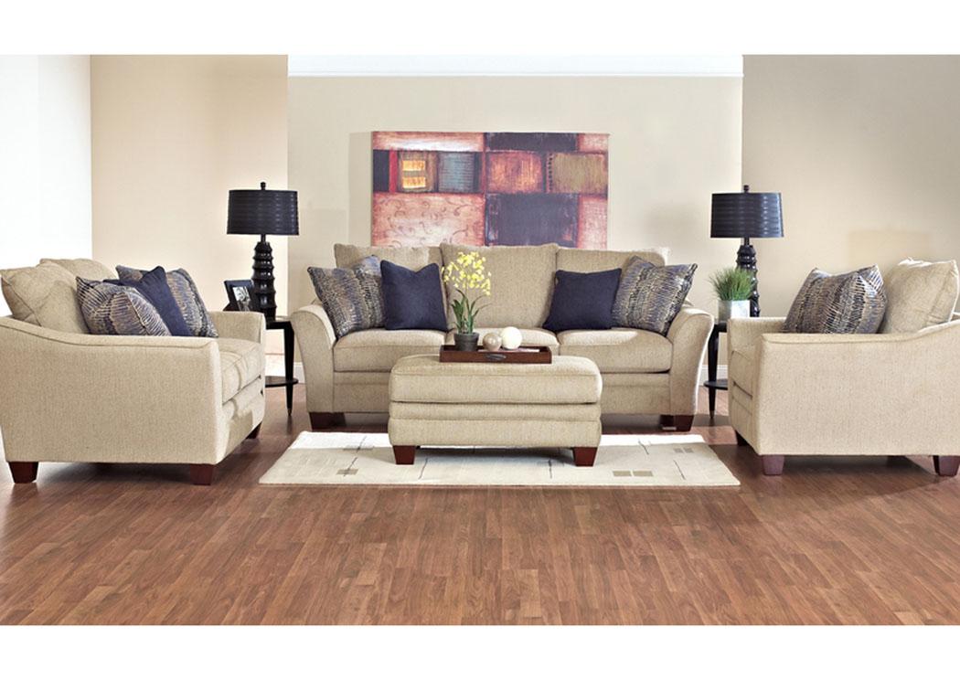 Furniture more galleries posen sandstone ottoman for Klaus k living room brunssi