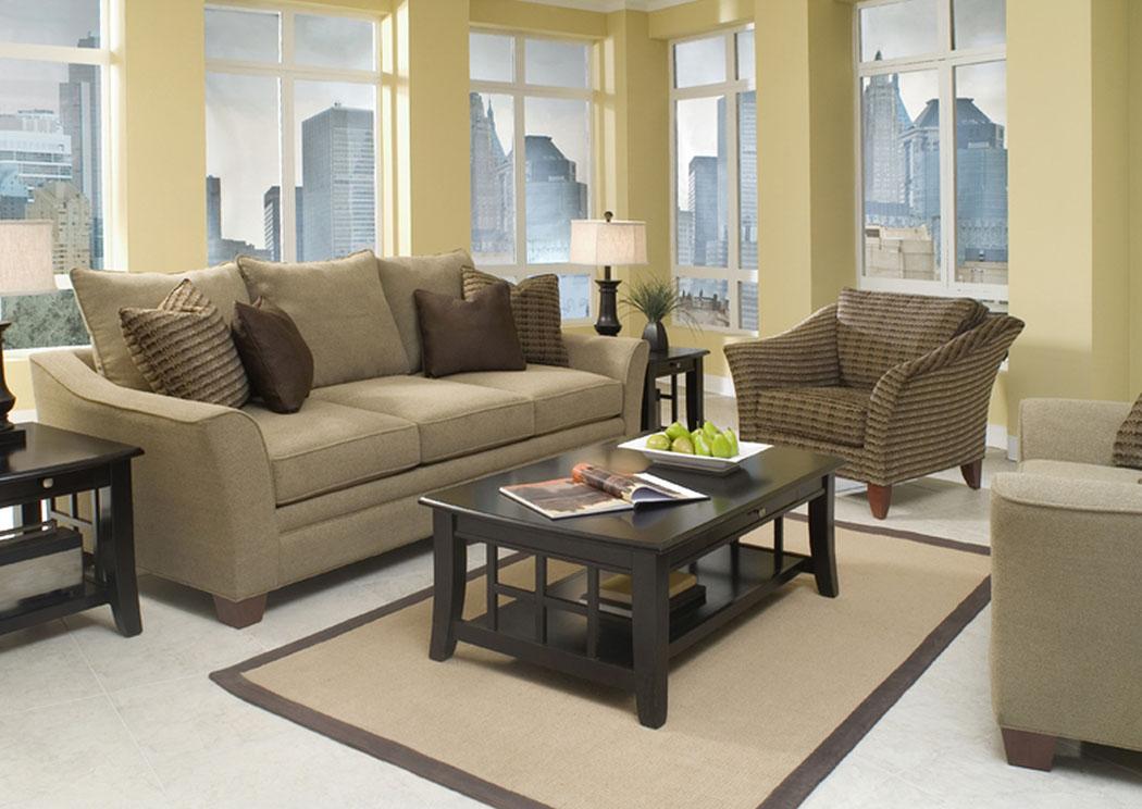 Compass furniture posen stone sofa for Klaus k living room brunssi