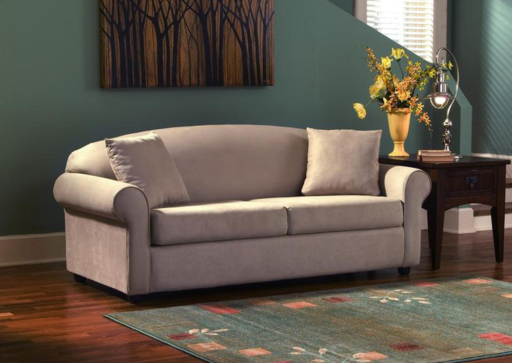 Possibilities Camel Innerspring Queen Sleeper Sofa,Klaussner Home Furnishings