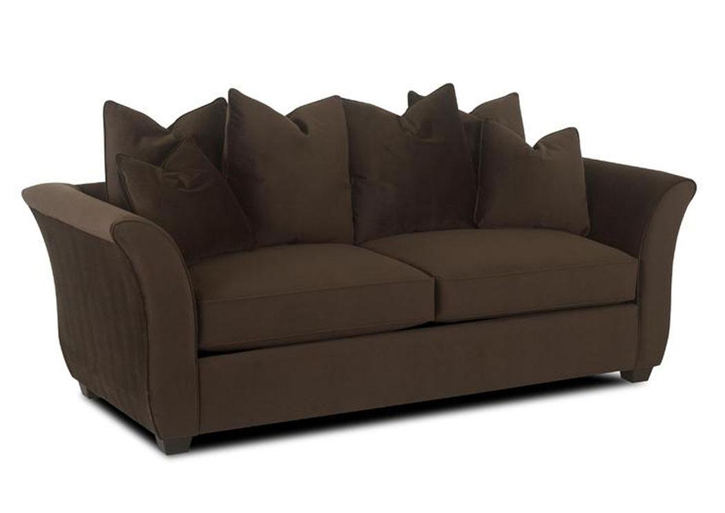 Voodoo Chocolate Sofa,Klaussner Home Furnishings