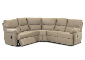 Bristol Cappucino Reclining Sectional