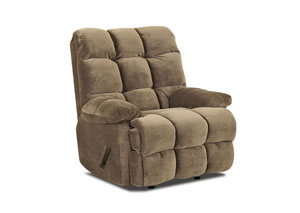 Brownsville Mocha Reclining Chair