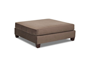 Canyon Brown Ottoman
