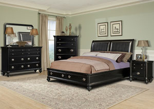 Danbury King Bed, Dresser & Mirror