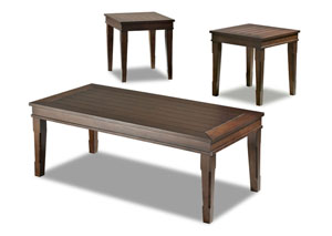 Manchester 3 Pack Occasional Table Set