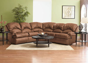 Phoenix Almond Reclining Sectional