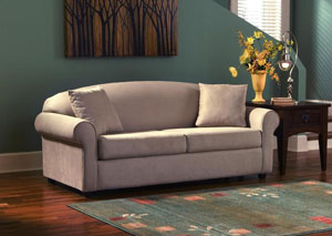 Possibilities Camel Innerspring Queen Sleeper Sofa