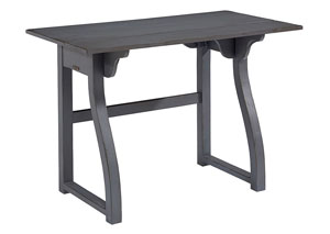 Small Writing Desk, French Grey