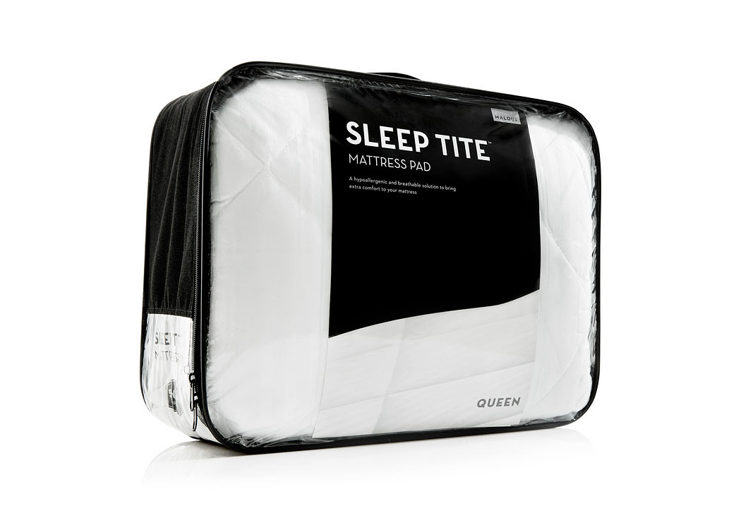 Sleep Tite Hypoallergenic Split Queen Mattress Protector  ,ABF Malouf