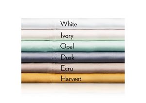 Woven Tencel 4 Pc Harvest Split Queen Sheet Set