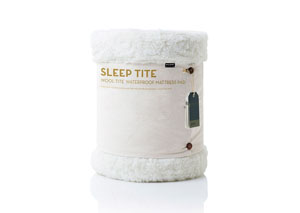 Wool Tite By Sleep Tite Wool Queen Mattress Pad and Protector