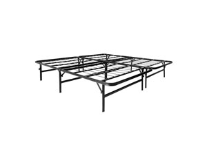 Structures California King Highrise Folding Metal Bed Frame