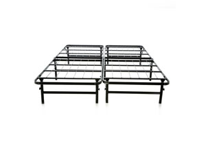 Structures Queen Highrise Folding Metal Bed Frame