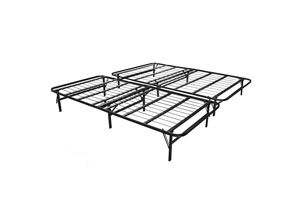 Structures Twin XL Highrise Folding Metal Bed Frame