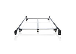 Structures Queen Steelock Hook-In Headboard-Footboard Heavy Duty Steel Bed Frame