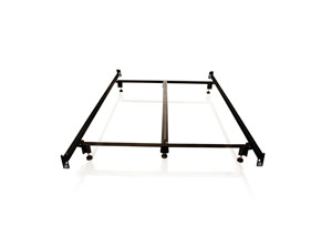 Structures Queen Steelock Headboard-Footboard Hook-In Super Duty Steel Wedge Lock Metal Bed Frame