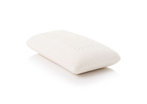 Z Talalay Queen Latex Zoned Pillow