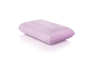Z Zoned Dough Lavender-Infused Memory Foam High Loft Queen Bed Pillow
