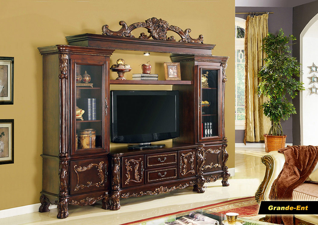 Grandent Entertainment Center,Meridian Furniture