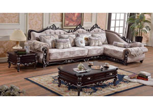 Valentino 3pc. Sectional