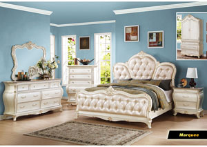 Marquee Pearl White Drawer Chest