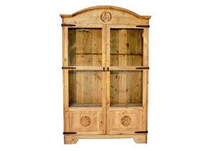 12 Gun Star Cabinet W/2 Doors