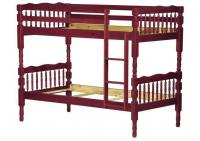 Arlington Twin/Twin Bunk Bed, Mahogany
