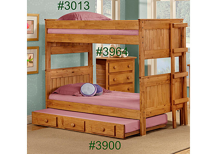 Lake Charles Furniture Full Full Stackable Bunk Bed Unfinished