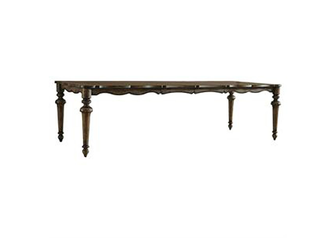 Accentrics Home Lucia Dining Table w/ Two 18