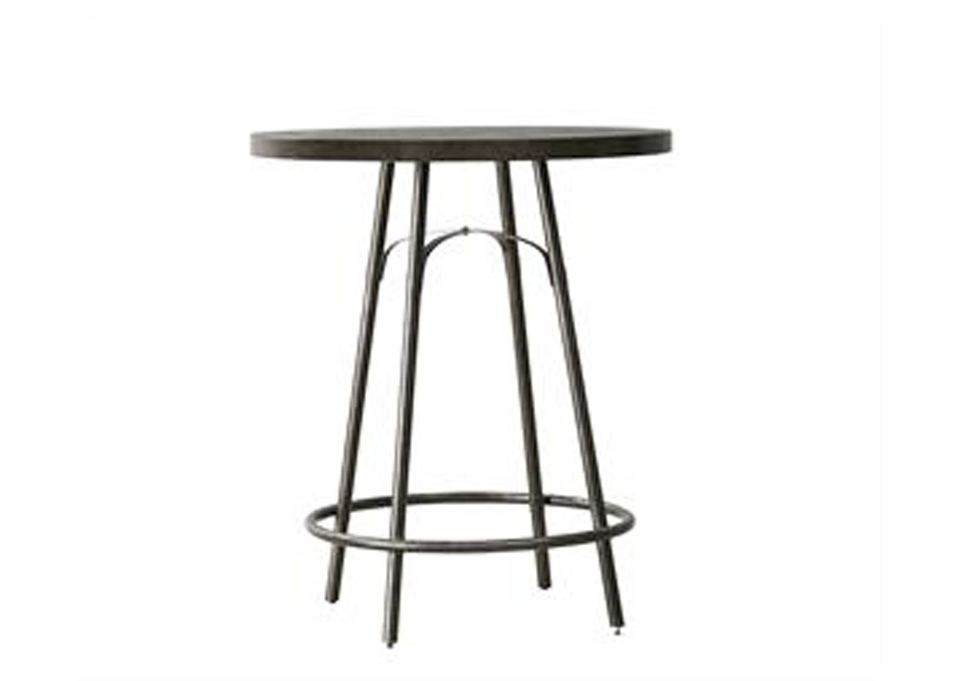 Vintage Tempo Metal Pub Table,Pulaski Furniture