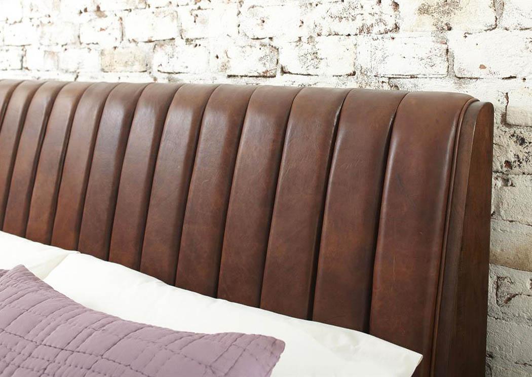 Landmark Home Furnishings   Houma, LA Modern Harmony Upholstered Queen  Headboard