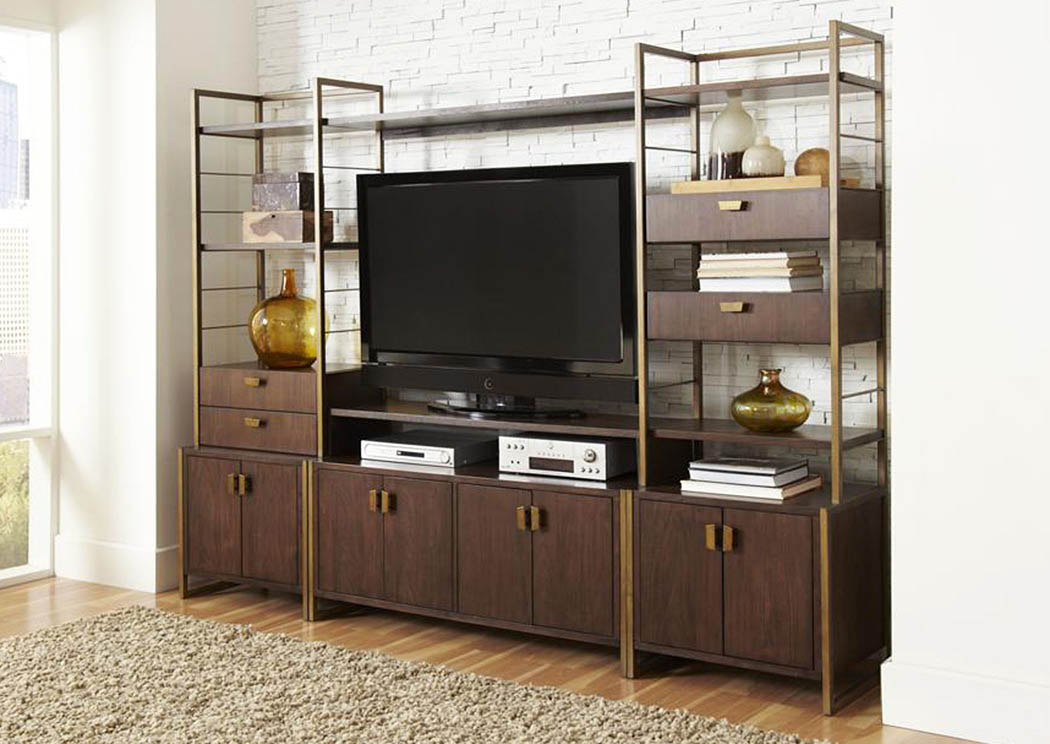 Modern Harmony Entertainment Wall Center,Pulaski Furniture