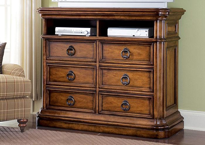 San Mateo Media Chest,Pulaski Furniture