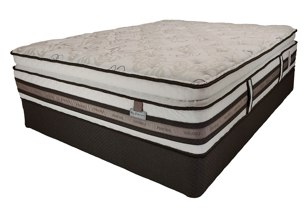 iSeries Bellagio Serbella Super Pillow Top Queen Mattress