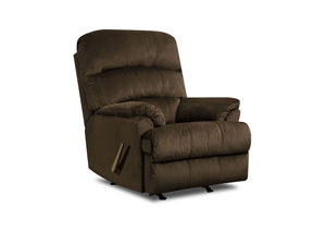 Hampton Umber Rocker Recliner