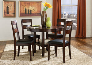 Pendleton Dining Table w/ 4 Side Chairs