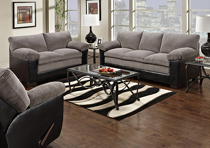 Davis Home Furniture Asheville Nc Lancaster Black Champion Charcoal Sofa