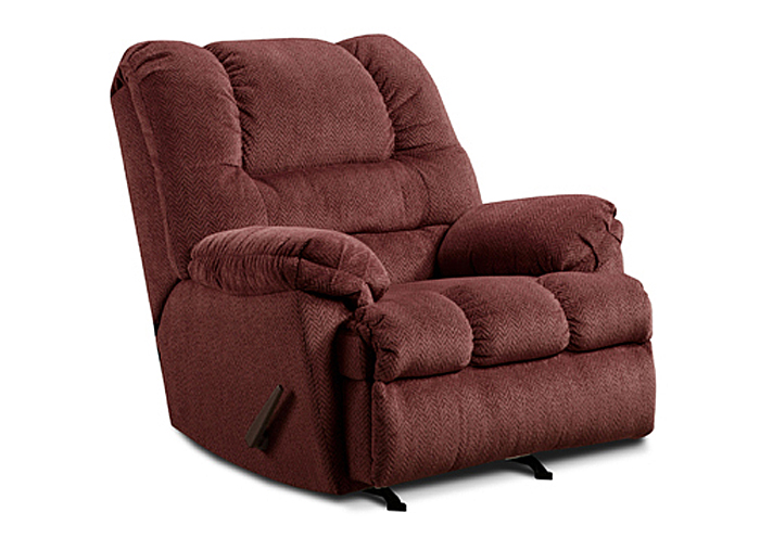 WINE ROCKER RECLINER,United Furniture