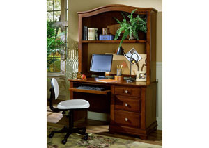 The Cottage Collection Cherry Computer Desk w/ Hutch