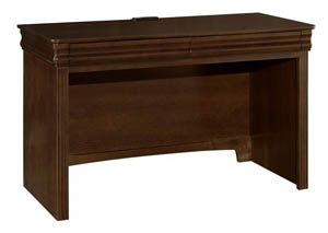 French Market French Cherry 2 Drawer Laptop/Tablet Desk w/ Charging Station,Vaughan-Bassett
