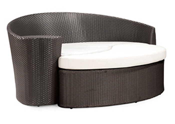 Curacao Bed And Ottoman,Zuo