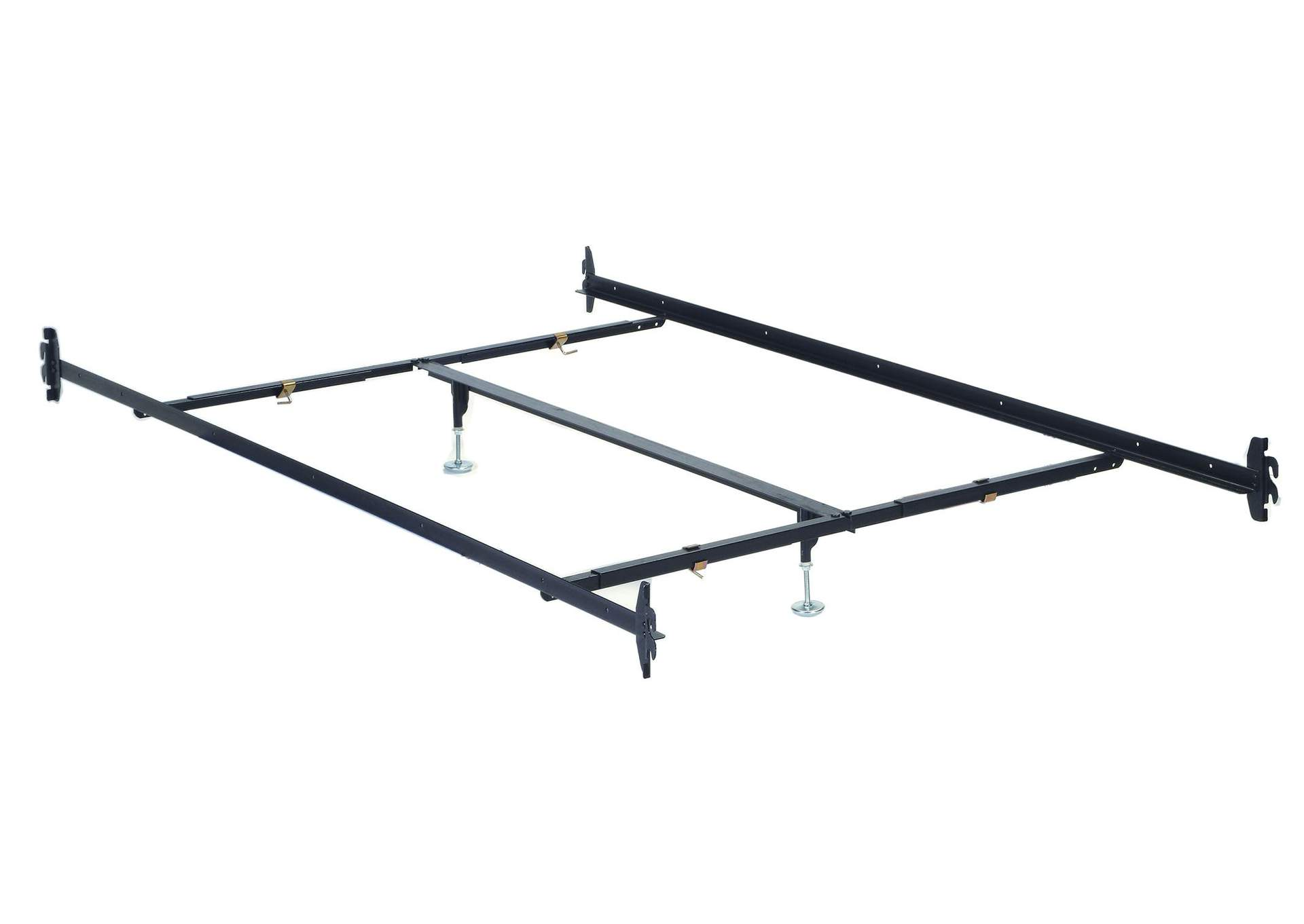 Frame Metal Queen Rail w/Center Support,Acme
