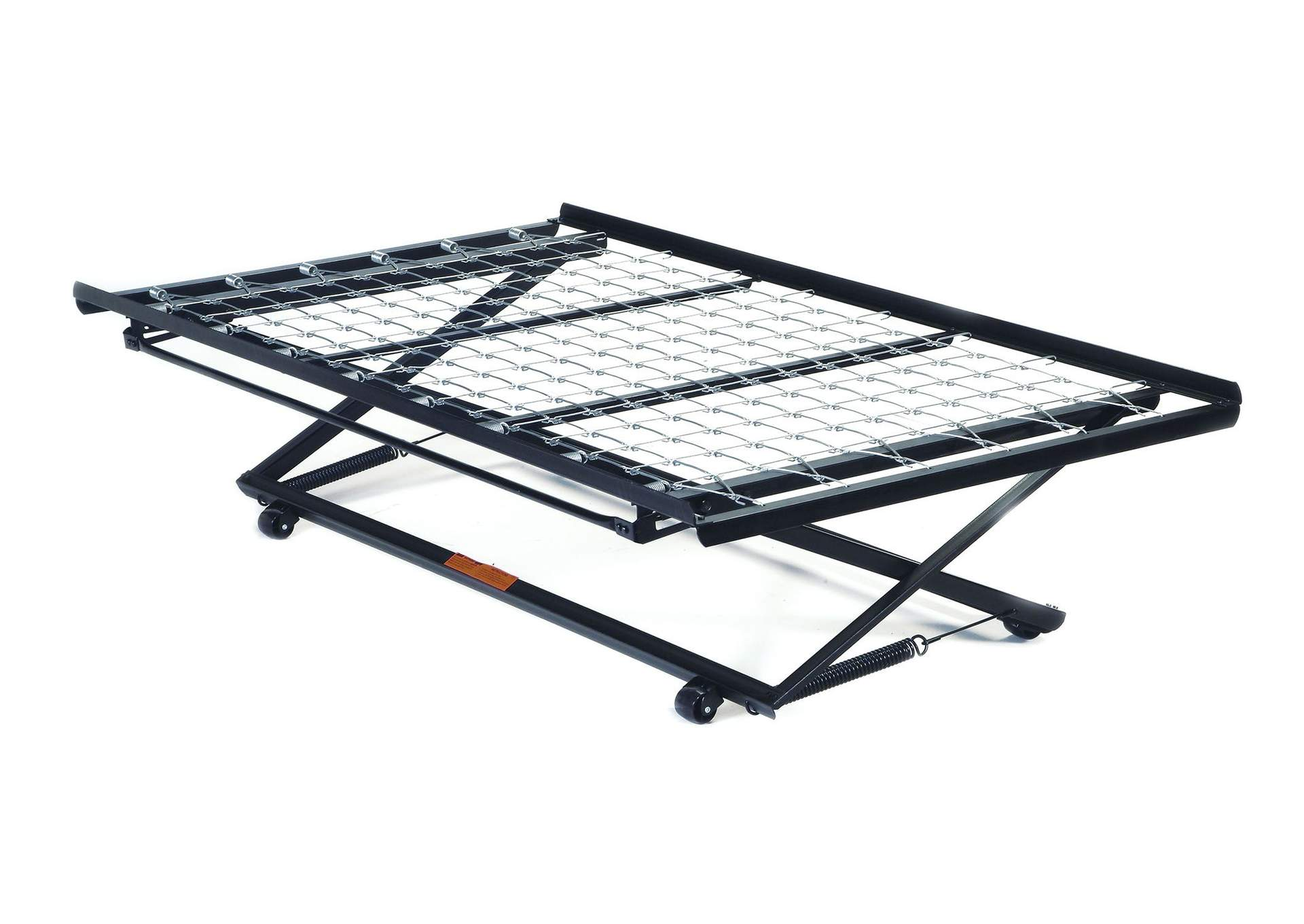 Frame Metal Twin Pop Up Trundle Bed Frame w/Link Spring,Acme