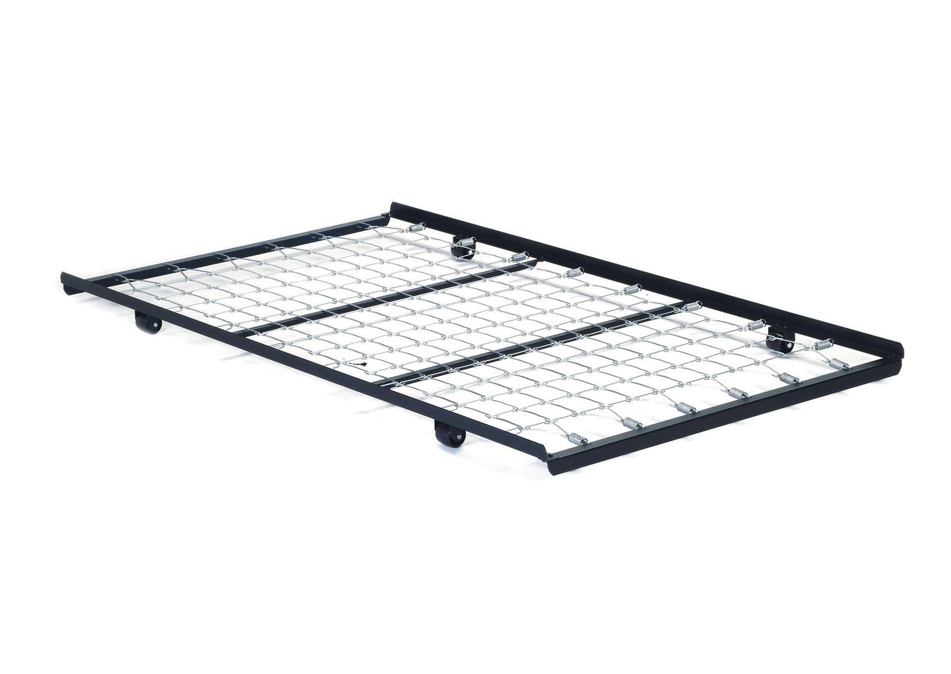 Frame Metal Twin Roll Out Trundle Bed w/Link Spring,Acme